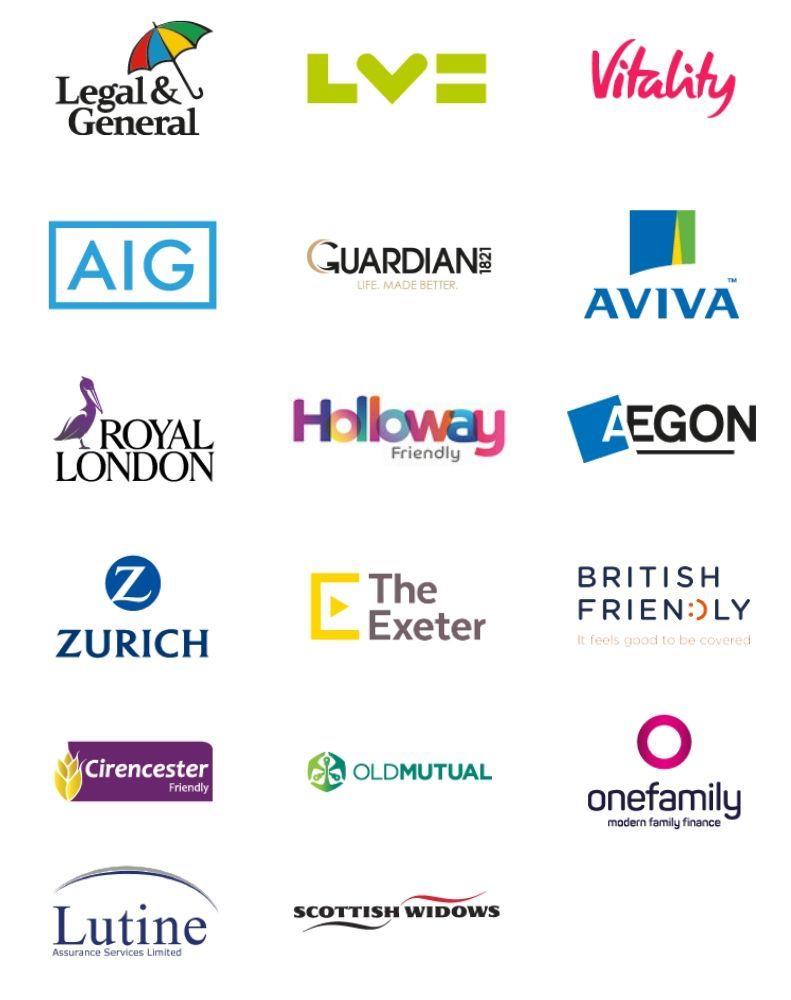 Life Insurance advice logos mobile
