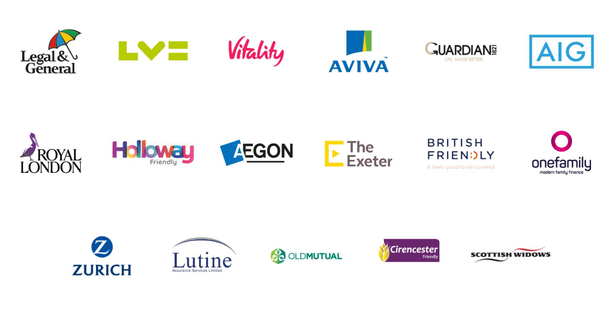 life insurance advice company logos